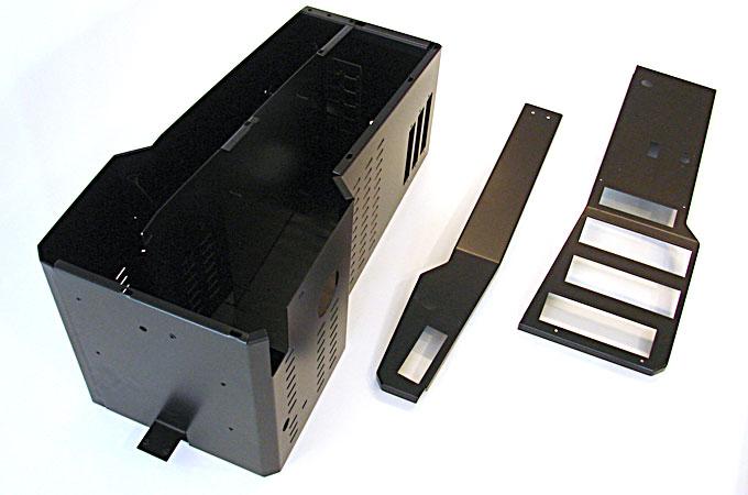 Mittelkonsole für Polizei-Einsatzfahrzeug